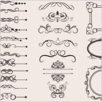 Link toClassic european pattern 06 vector