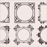 Link toClassic european pattern 08 vector