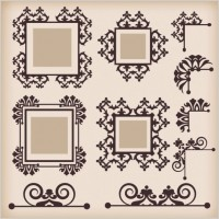 Link toClassic european pattern 09 vector