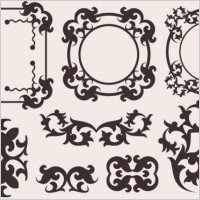 Link toClassic european pattern 10 vector