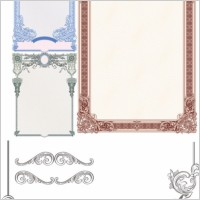 Link toClassic european security border pattern 01 vector