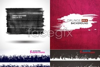Link toClassic ink-brush background vector