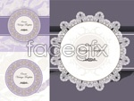 Link toClassic label pattern vector