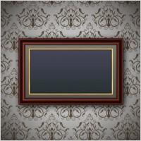Link toClassic pattern border 02 vector
