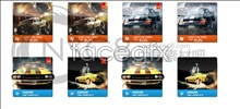 Link toClassic sports cars desktop icons