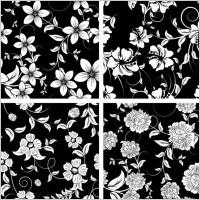 Link toClassic traditional black and white pattern 03 vector