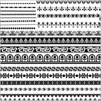 Link toClassic traditional pattern lace 03 vector