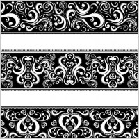Link toClassic traditional pattern lace 04 vector