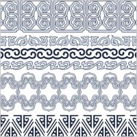 Link toClassic traditional pattern lace 05 vector