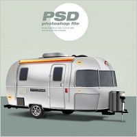 Link toClassic trailer free psd file