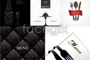 Link toClassic western-style food menu design vector