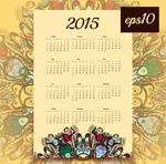 Link toClassical 2015 calendar vector