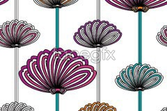 Link toClassical abstract floral background vector