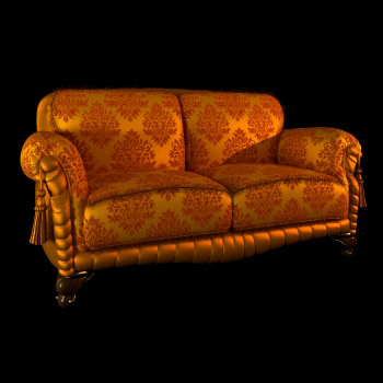 Link toClassical aristocratic sofa 3d model