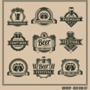 Link toClassical beer labels creative vector 02 free