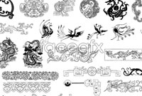 Link toClassical chinese traditional pattern vector 2