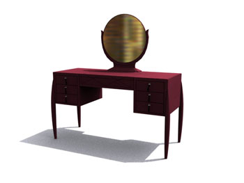 Link toClassical mahogany dresser 3d model