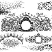 Link toClassical ornaments elements vector 02 free