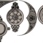 Link toClassical ornaments elements vector 03 free