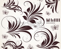 Link toClassical pattern plant vector design