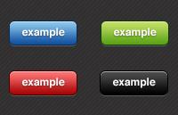 Link toClean button set psd