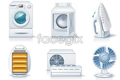 Link toClean electrical appliances vector