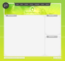 Link toClean website template