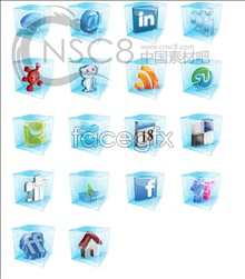 Link toClear crystal software icons