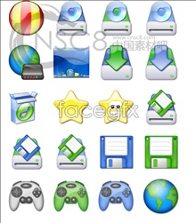 Link toClear pure color system icons
