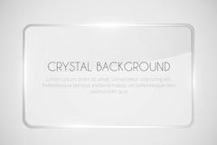 Link toClear square glass background vector