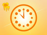 Link toClock icon vector free