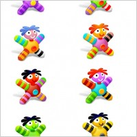Link toCloth dolls icons icons pack