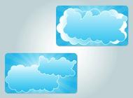 Cloud illustrations vector free