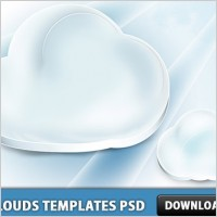 Link toClouds templates psd