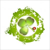 Link toClover beautiful background 06 vector
