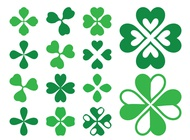 Link toClover leaves graphics vector free