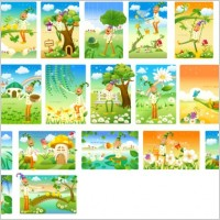 Link toClown and the landscape vector series