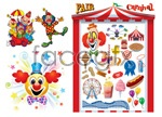 Link toClown carnival vector