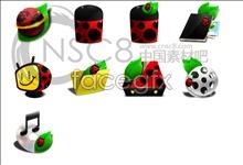 Link toCoccinella desktop icons