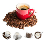 Link toCoffee and coffee beans 2 psd