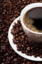 Link toCoffee and coffee beans psd
