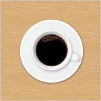 Link toCoffee cup psd layered