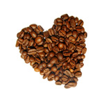 Link toCoffee heart psd