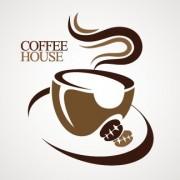 Link toCoffee house creative logo design vector free