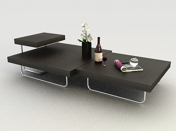 Download Free 3d Models Coffee Table Furniture Modern Furnishings Fashion Boutique