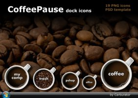 Link toCoffeepause dock icons