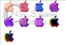 Link toColor apple desktop icons