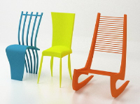 Link toColor art chair model
