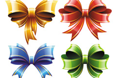Link toColor bow design vector