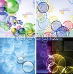 Link toColor bubble background vector